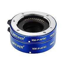 Neewer® All-Metal Auto Focus Macro Close-up Extension Tube Set 10mm,16mm for Micro Four Thirds(Micro-4/3) Mirrorless Cameras, fits Panasonic G1 G2 G3 G10 GH1 GH2 Olympus E-P1 E-P2 E-P3 E-P5 E-PL1