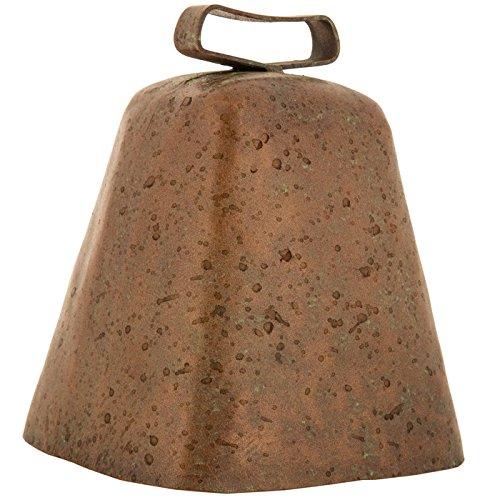 Rusty Patina Metal Cowbell]()