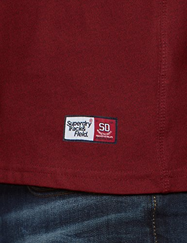 Trackster Rosso Grit Superdry shirt Hook Tee T Homme red 6CCqBwOx