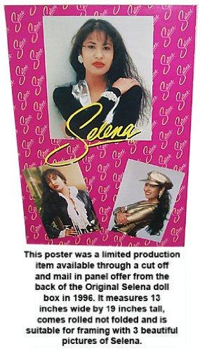Selena Quintanilla 1996 Original Doll Redemtion Poster Rare!