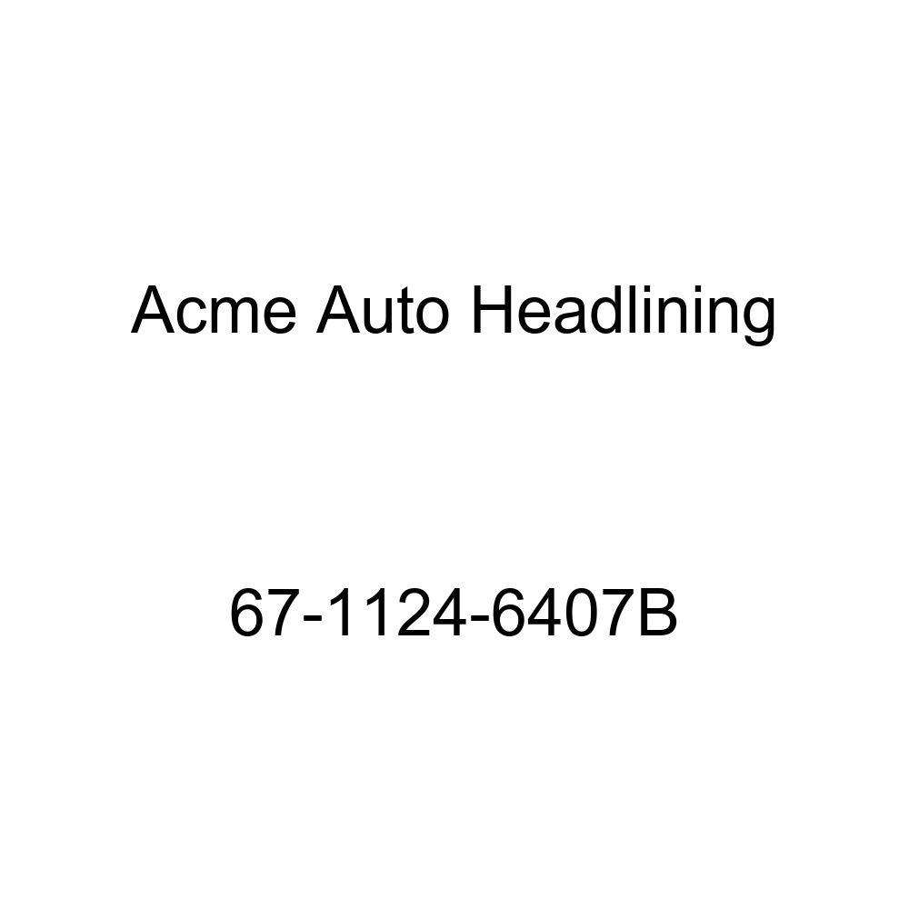Acme Auto Headlining 67-1124-6407B Fawn Replacement Headliner Buick Skylark 4 Door Hardtop