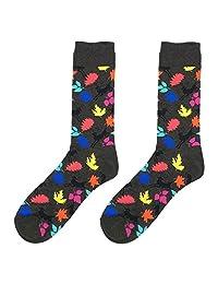 Winterjoys Men's Cotton Stockings ,Cotton Long Socks Autumn and Winter New Cartoon Socks Men and Women Couple Socks Cute Cartoon Animal Casual Cotton Cocktail Socks for Men and Women Boys and Girls