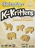 Kinnikinnick Gluten Free Graham Style KinniKritter Animal Cookies - Box /8 oz.