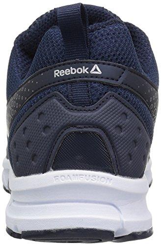 Reebok Mens Runner 2.0 Mt Scarpa Da Corsa Coll. Marina / Flash Elettrico / Argento Metallizzato