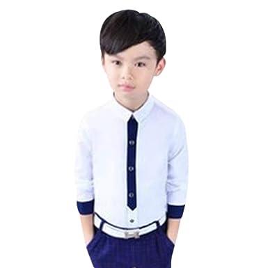 KINDOYO Muchachos Traje - Traje Ceremonia niño, Niño graduación Traje,niño Traje de Boda, 1-8 años