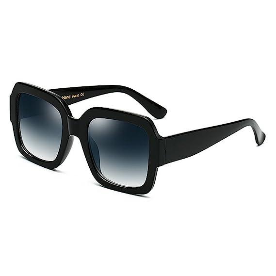 oficial auténtico auténtico replicas Gafas de Sol cuadradas de Gran tamaño para Mujeres y Hombres ...