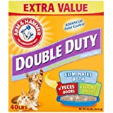 Arm & Hammer Double Duty Clumping Litter (40 Pounds Pack of 4)