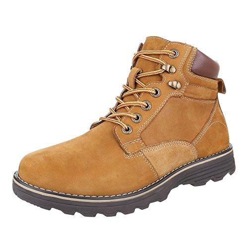 Ital-Design - Botas Desert Hombre marrón claro