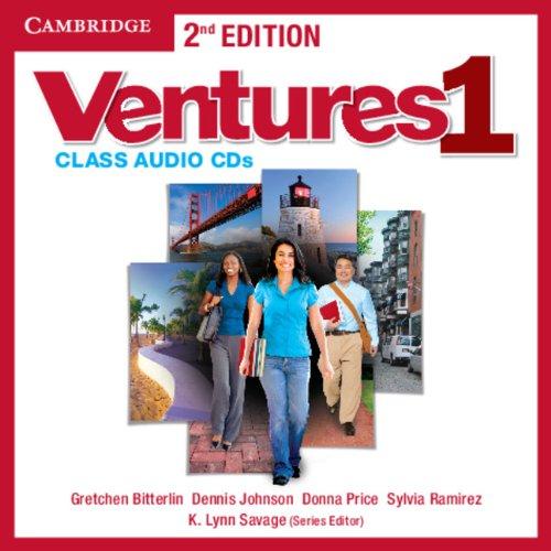 Ventures Level 1 Class Audio CDs (2)