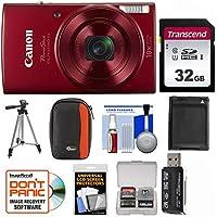 Canon PowerShot Elph 190 is Wi-Fi Digital Camera (Red)...