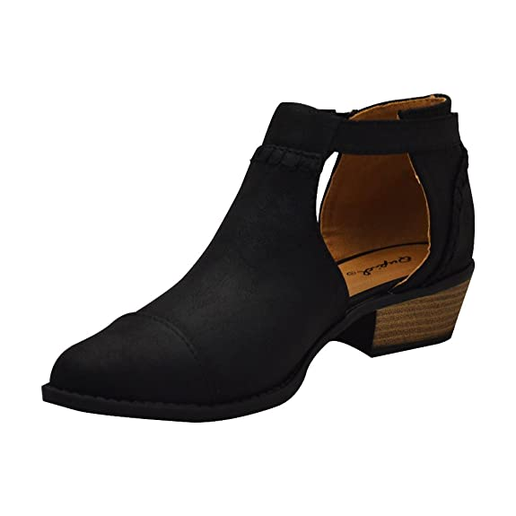 Sochi-148 Womens Open Buckle Bootie
