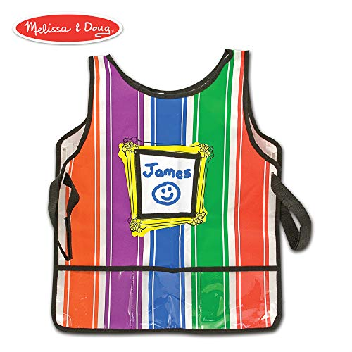 - Melissa & Doug Art Essentials Artist Smock (One Size Fits All)
