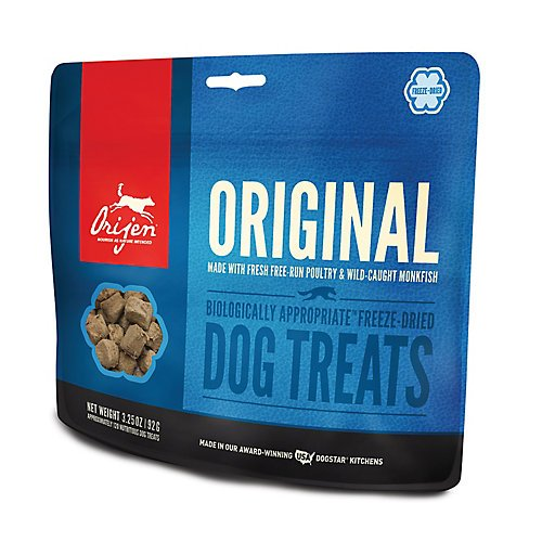 Frozen Raw Turkey (Orijen Freeze Dried Original Dog Treat 3.25oz)