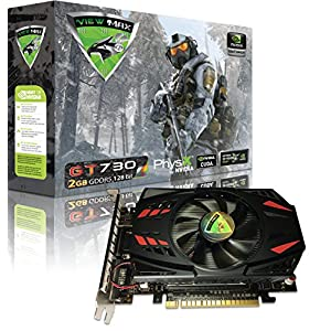 ViewMax NVIDIA GeForce GT 730 2GB GDDR3 128 Bit PCI Express (PCIe) DVI Video Card HDMI & HDCP Support *** WARRIOR EDITION ***