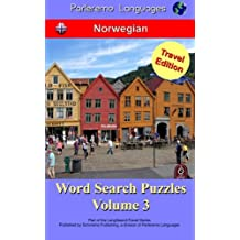 Parleremo Languages Word Search Puzzles Travel Edition Norwegian - Volume 3