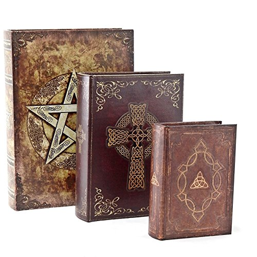 Witch Altar (Designed Wood Leather Book Box (Brown Ritual))