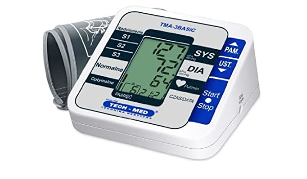 Tech-Med TMA-3Basic preciso Digital tensiómetro de brazo Auto ...