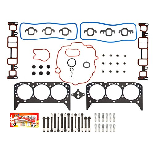 Chevrolet 4.3 V6 OHV Cylinder Head Gasket Set Head Bolts
