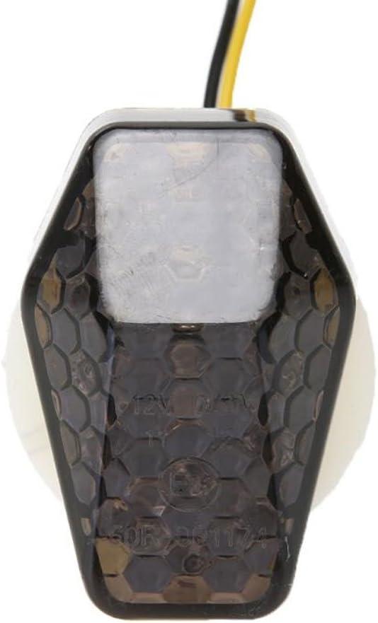 Vinciann 2x Indicatori direzionali frecce nero fum/é LED luci Suzuki GSXR 600 750 1000