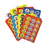 Wholesale CASE of 20 - Trend Variety Praisewords Stickers-Praise Word Stinky Stickers, Round, Scratch/Sniff, 300/PK