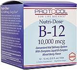 #8: Protocol For Life Balance Nutri-Dose B-12 Liquid Vitamins, 0.5 Fluid Ounce