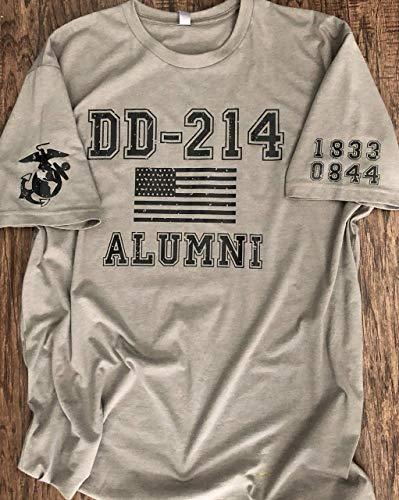 DD 214 ALUMNI Customized Military Branch t-shirt (Tee Alumni)