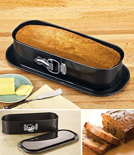 Non Stick Springform Loaf Baking Pan by Collections Etc
