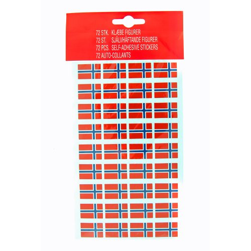 Norway Flag Stickers - Norway Store
