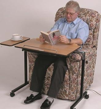 Fenetic Wellbeing - Conjunto de 2 mesas auxiliares ajustables para ...