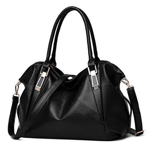 main Handbag à bandoulière à pour Noir bandoulière A bandoulière Sac décontracté Sac femme à Femme Couleur Sac 6 qwpwr1