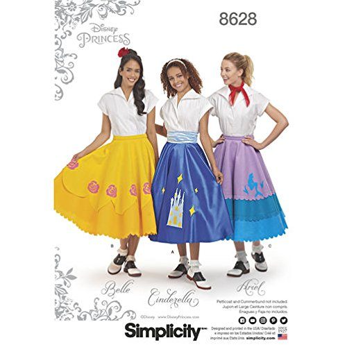 Simplicity Creative Patterns Misses Costumes, (Dapper Halloween Costumes)