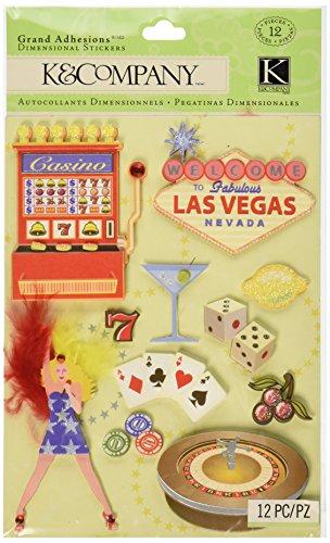 K&Company Happy Trails Las Vegas Grand Adhesions Stickers ()