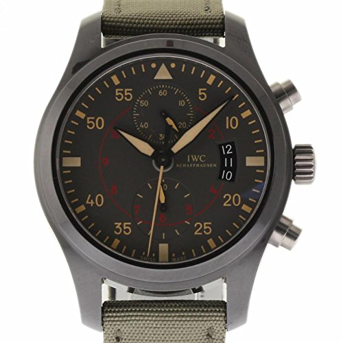 - IWC Pilot Swiss-Automatic Male Watch IW388002 (Certified Pre-Owned)