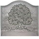 28″ x 26″ Large Oak Fireback Review