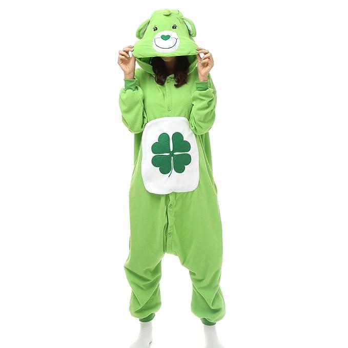 Cosplay - Pijama de una pieza - para mujer Verde verde