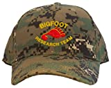 Bigfoot Research Team Embroidered Baseball Cap - Camo