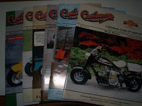 Cushman Motor Scooter Member Magazine Complete Year 6 Issues 2004