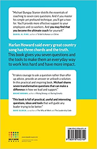 Amazon.com: The Coaching Habit: Say Less, Ask More & Change the ...