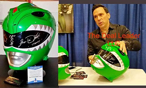 Power Rangers Jason David Frank Green Helmet Autographed Signed Beckett Psa from Sports Collectibles Online