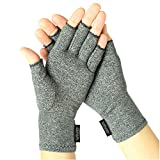Arthritis Gloves by Vive      Compression therapy gloves for arthritis pain relief.   These fingerless therapeutic compression gloves are designed to help alleviate pain in hands, especially in people suffering from rheumatoid arthritis, oste...