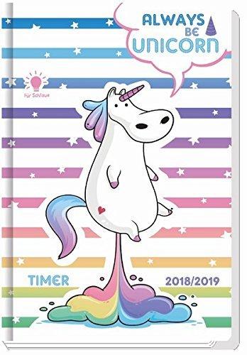Agenda escolar Unicorn/Unicornio 2018/2019 - schulplaner ...