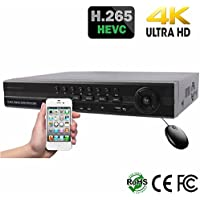 HDView H.265 HD 32 Channel Megapixel NVR, 4K HDMI, Up to 5MP IP Camera, ONVIF compatible, Commercial Grade