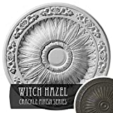 Ekena Millwork CM20LUWHC Lunel Ceiling Medallion, Witch Hazel Crackle