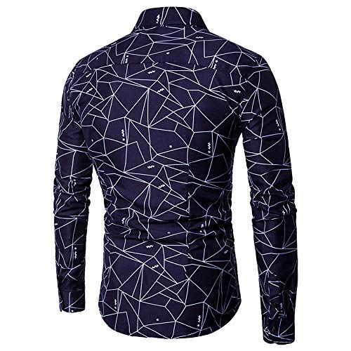 Navy blueee Small Men's Shirt  Solid colord Print