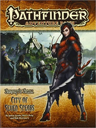 Book Pathfinder Adventure Path: The Serpent's Skull Part 3 - The City of Seven Spears (Pathfinder Adventure Path: Serpent's Skull) – December 7, 2010
