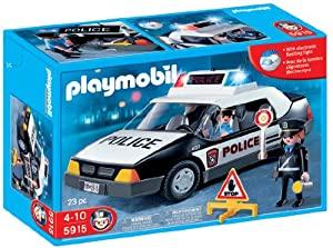 Playmobil police car toys games - Playmobil camion police ...