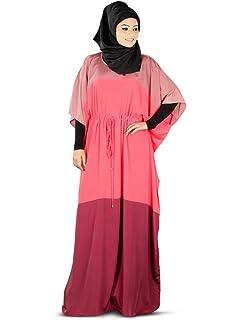Abaya Coton Burqa Simple Mybatua Islamique Cérémonie Maxi En jcS5q34ARL