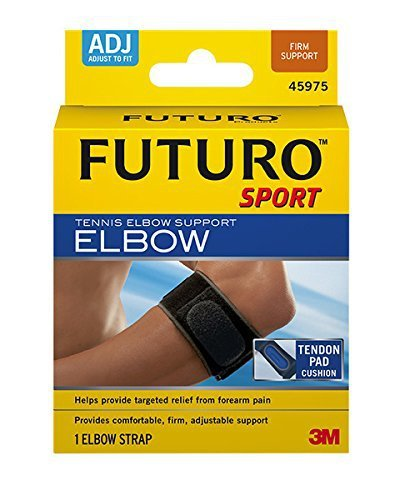 Futuro Sport Tennis Elbow Support, Adjustable by Futuro