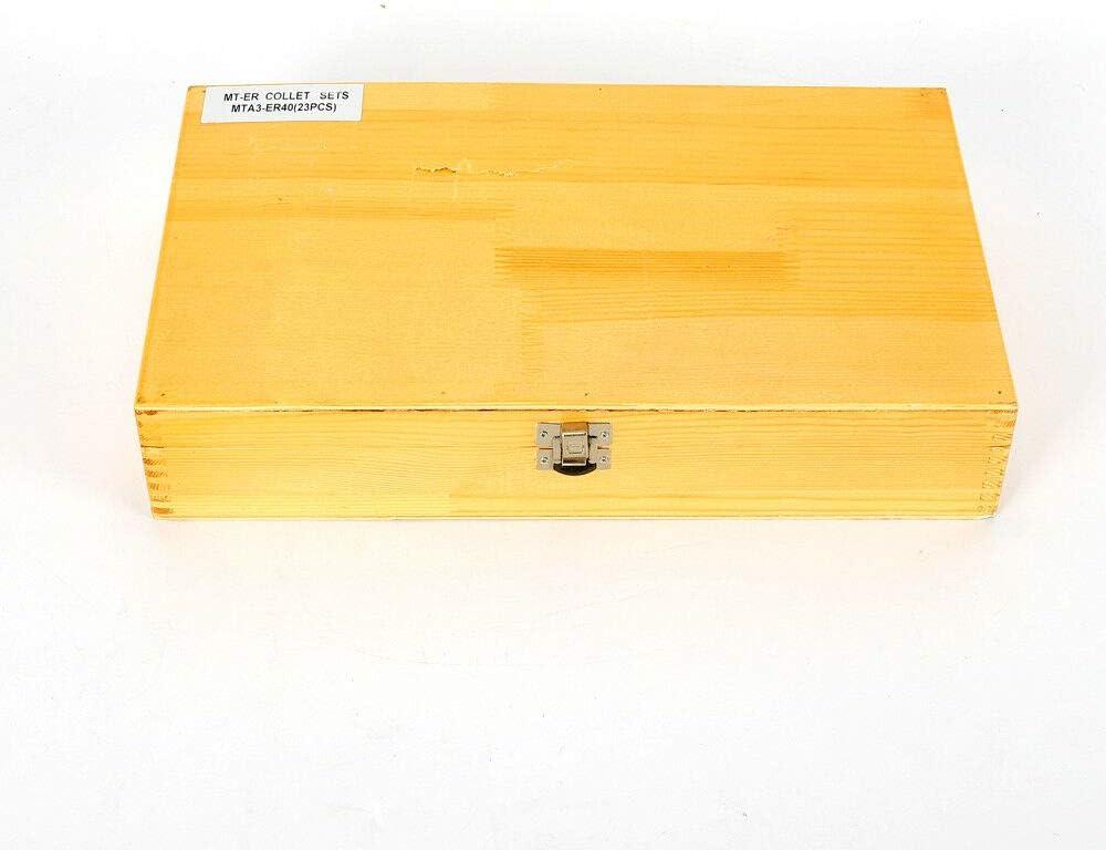 cl/é M12 Filetage de fixation ER40 Lot de 23 mandrins de serrage /Ø 4-26 mm MK3