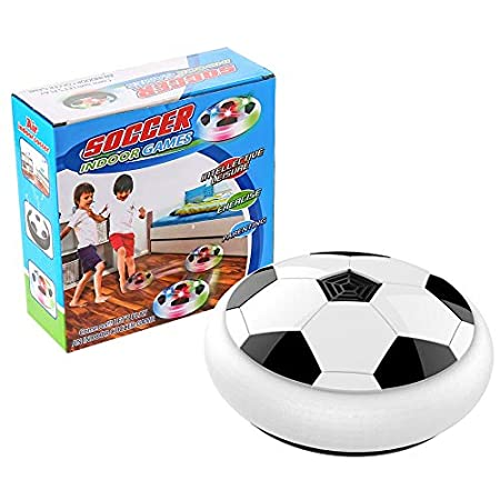 Hauggen1 Hover Ball Luz LED Intermitente Air Power Balón de fútbol ...